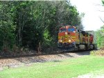 BNSF 5259 4435 Transfer to Hulsey yard from Fairburn